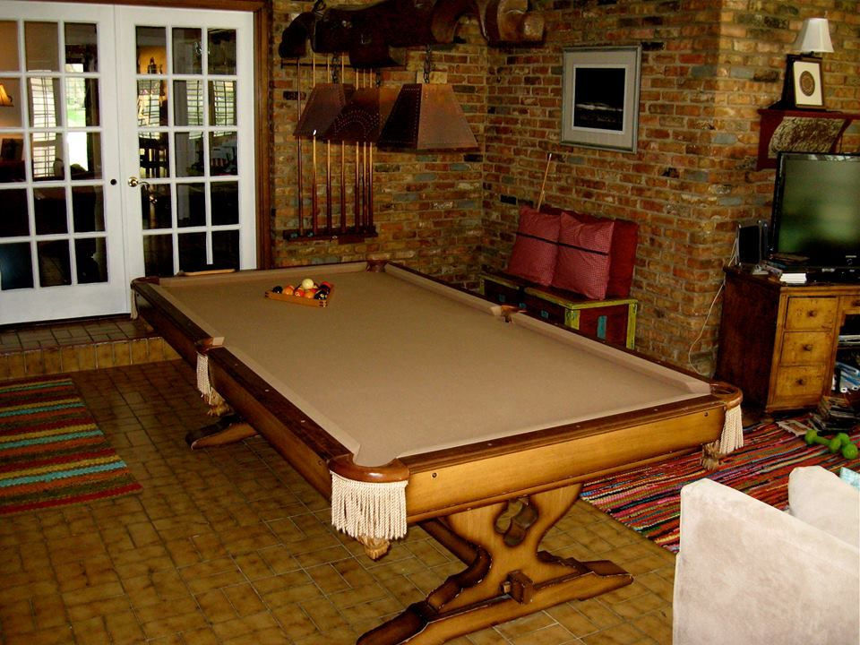 Still In Pristine Condition After All The Years. Good Slate American Pool  Tables Are Built To Last A Lifetime. Why Buy A Cheap ...