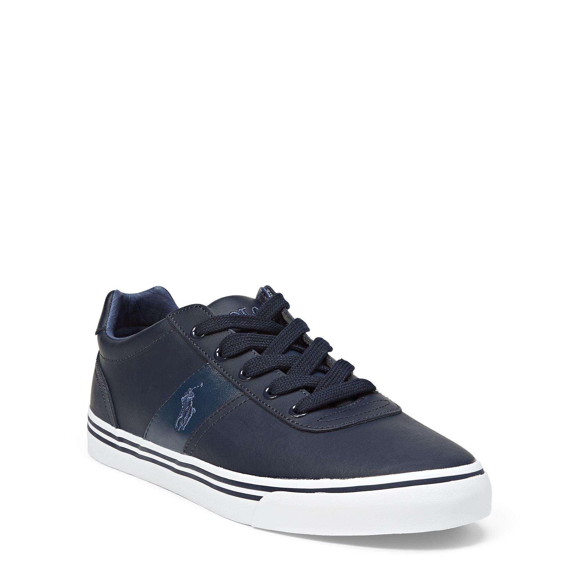 b807e812600 Polo Ralph Lauren - Hanford Leather Sneaker