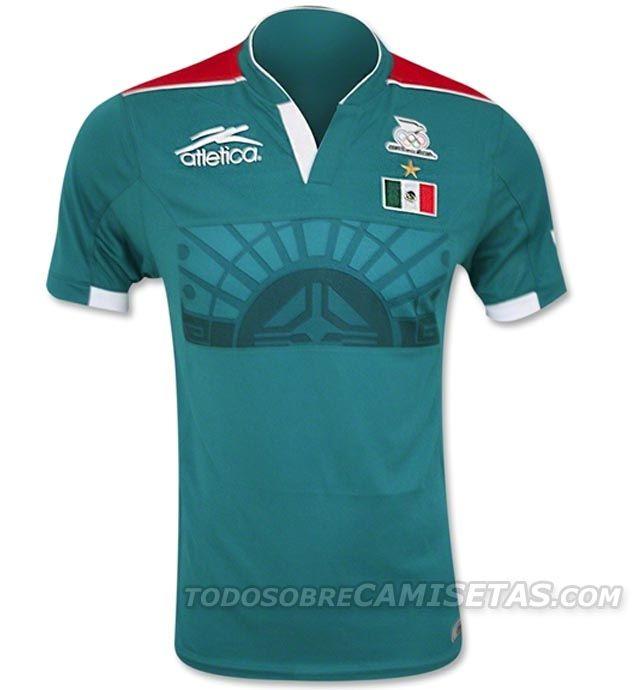 6b19e3d1b06e6 Todo Sobre Camisetas  Jerseys Atlética de México Campeón Olímpico Londres  2012 Playeras De Futbol