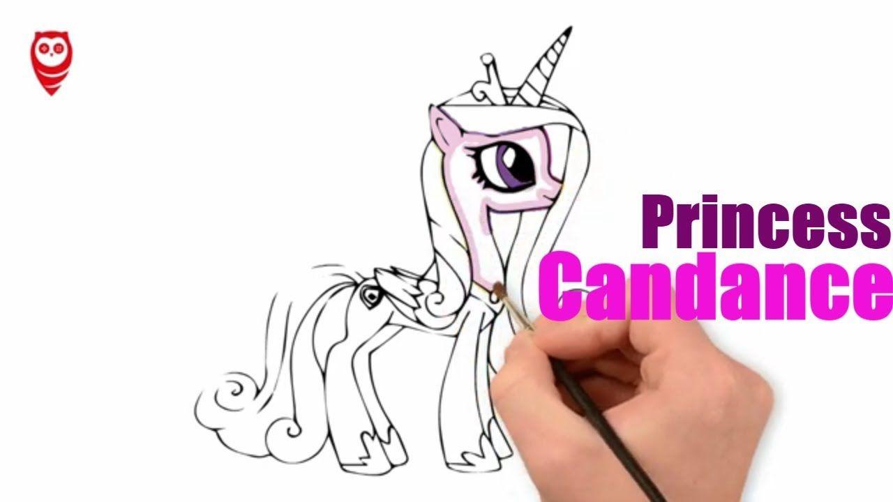 My Little Pony Prenses Candance Boyama Ve Cizim Sayfasi Cocuklar Icin Nasil Yapilir My Little Pony Cizim Boyama Kitaplari