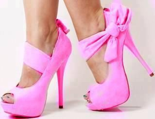 Pink High Heel Shoes | Picture pink-high-heels-shoes-with-peep-toe ...
