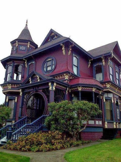 Pretty Gothic Houses