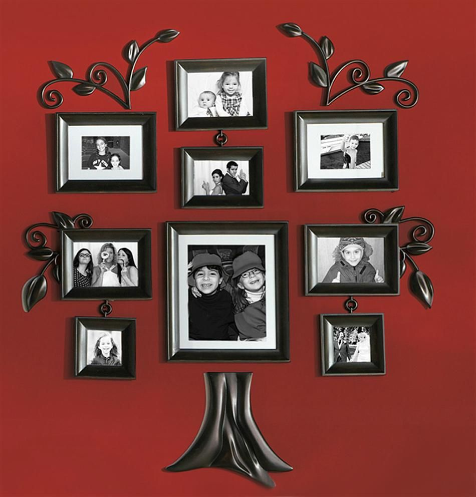 Wallverbs family tree picture frames wall verbs 12 piece family wallverbs family tree picture frames wall verbs 12 piece family tree collection photo frame jeuxipadfo Choice Image