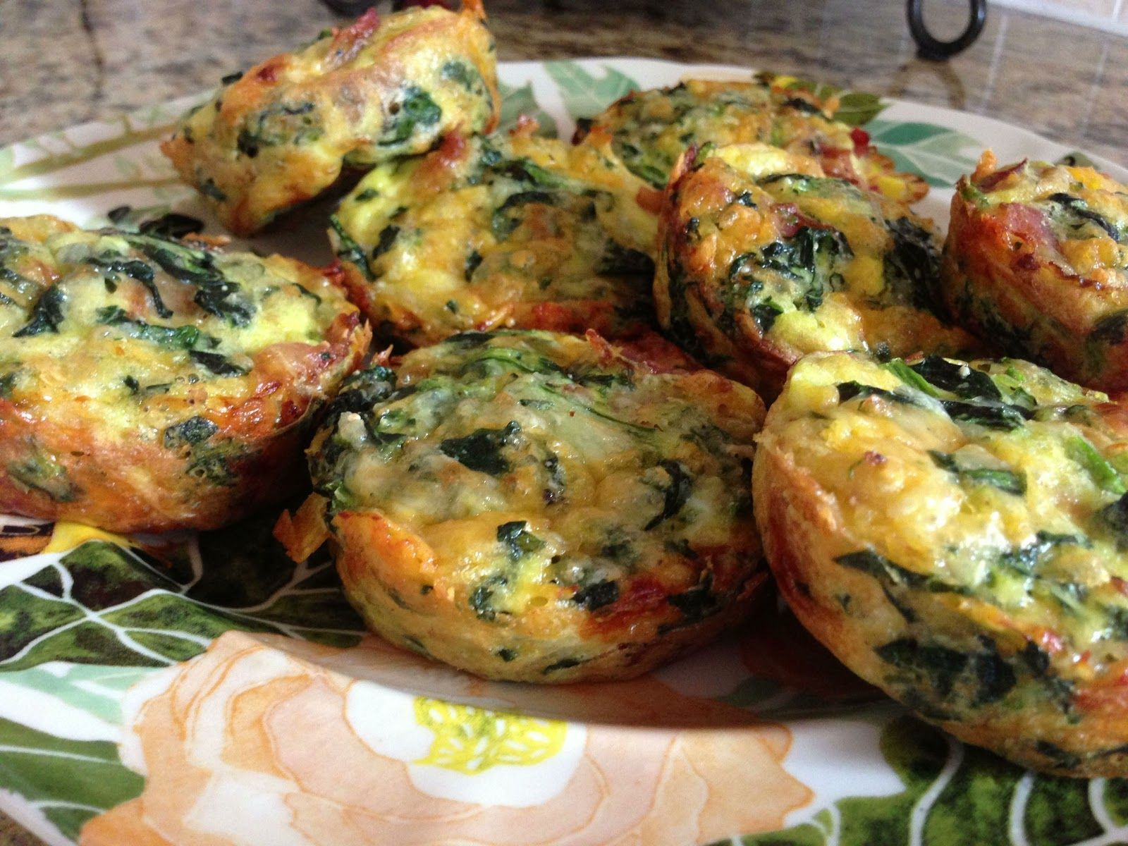 Imagine Great Living: Crustless Mini Quiches.  For the party!