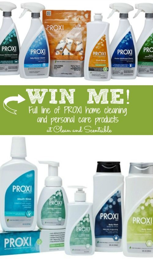 Clean & Scentsible: PROXI Giveaway!