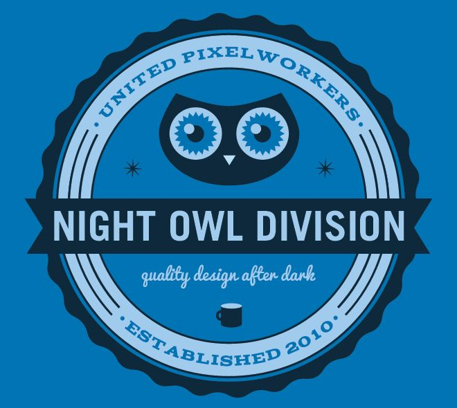 United Pixelworkers Tee Owltastic Writing About Web Design By Meagan Fisher Logo Design Web Design Design