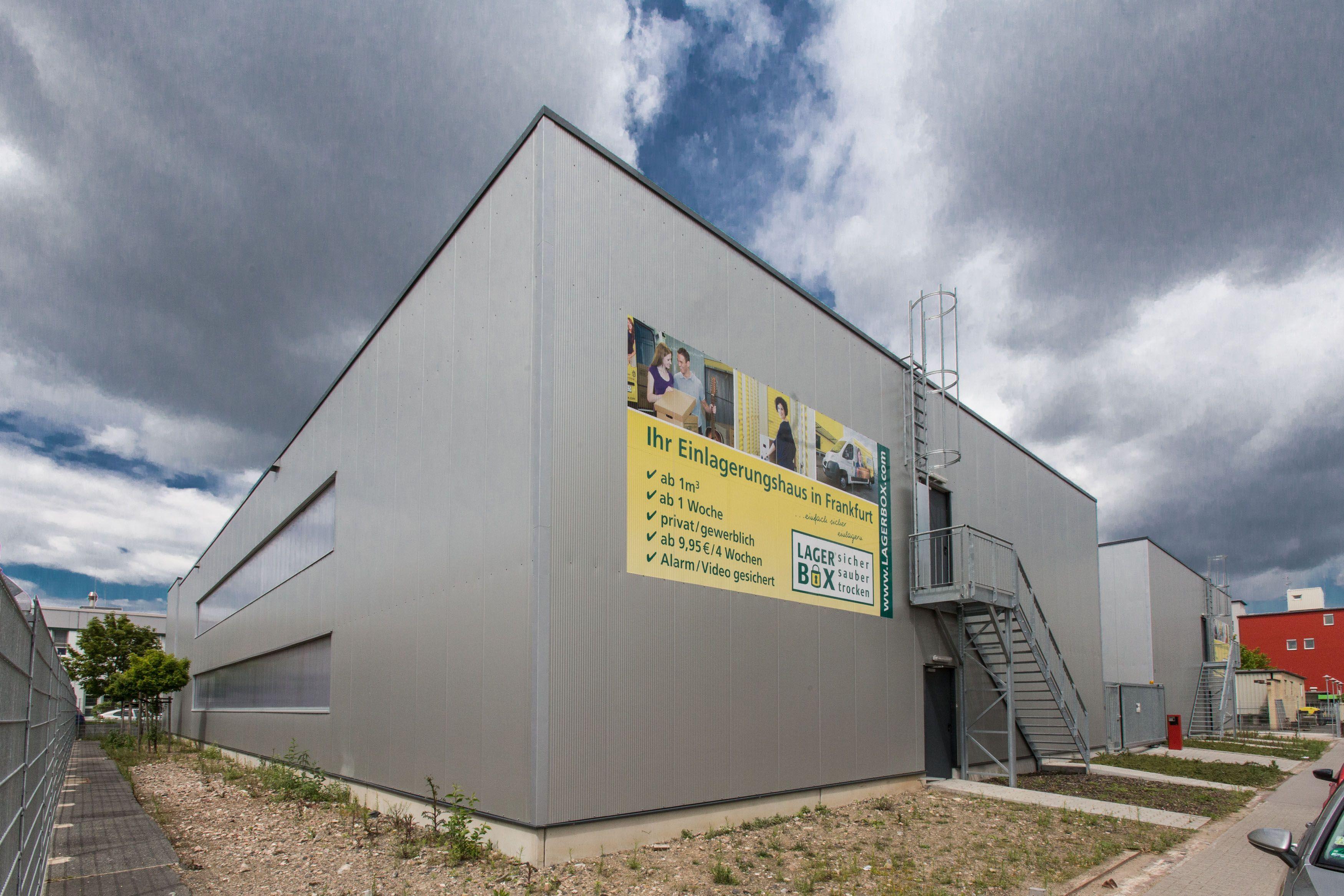 Selfstorage Lagerraum Mieten Bei Lagerbox In Frankfurt Sicher