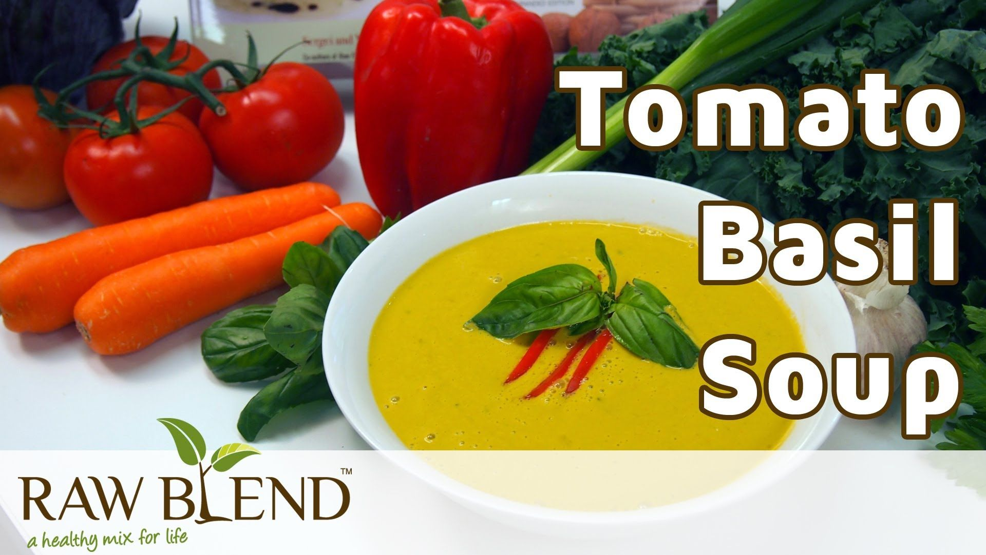 How to make hot soup tomato basil recipe in a vitamix blender by how to make hot soup tomato basil recipe in a vitamix blender by raw blend i made this yesterday and its delicious forumfinder Choice Image