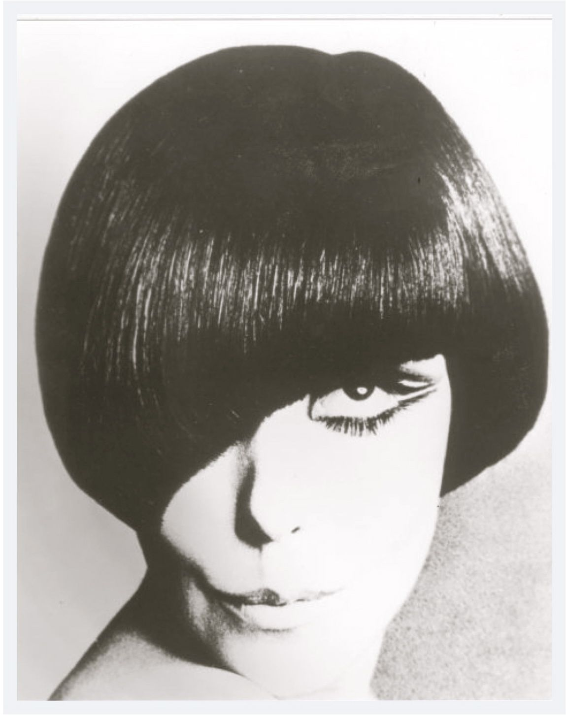 1960S Hairstyles Glamorous Vidal Sassoon Created This Hairstyle In The 1960S And Was Part Of