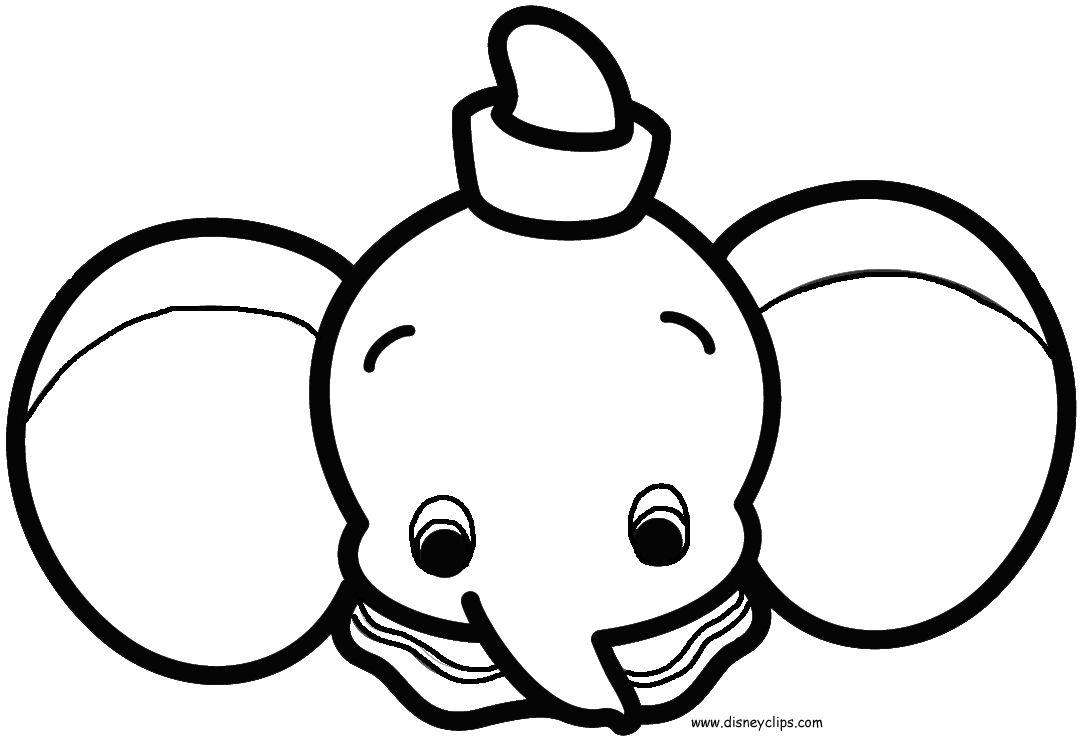 Disney Cuties Coloring Pages Stitch [ 745 x 1086 Pixel ]