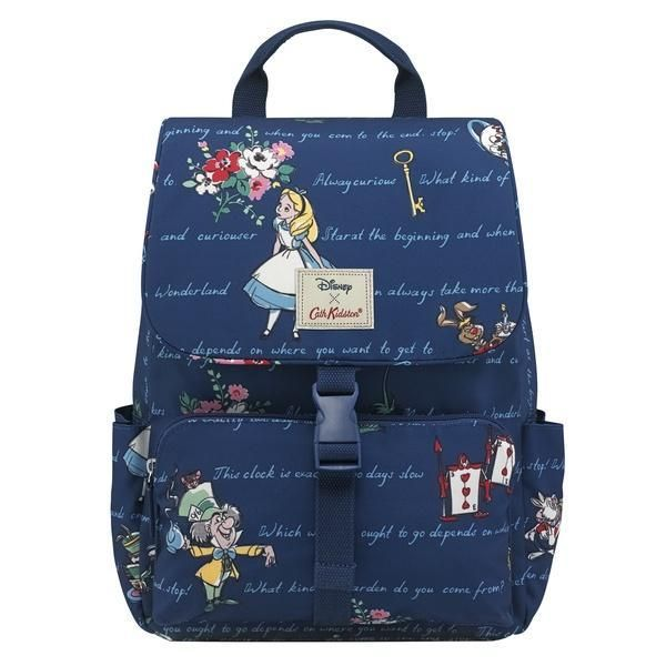 Cath Kidston Alice in Wonderland Buckle backpack is a bag that s great for  school a71e88e698976