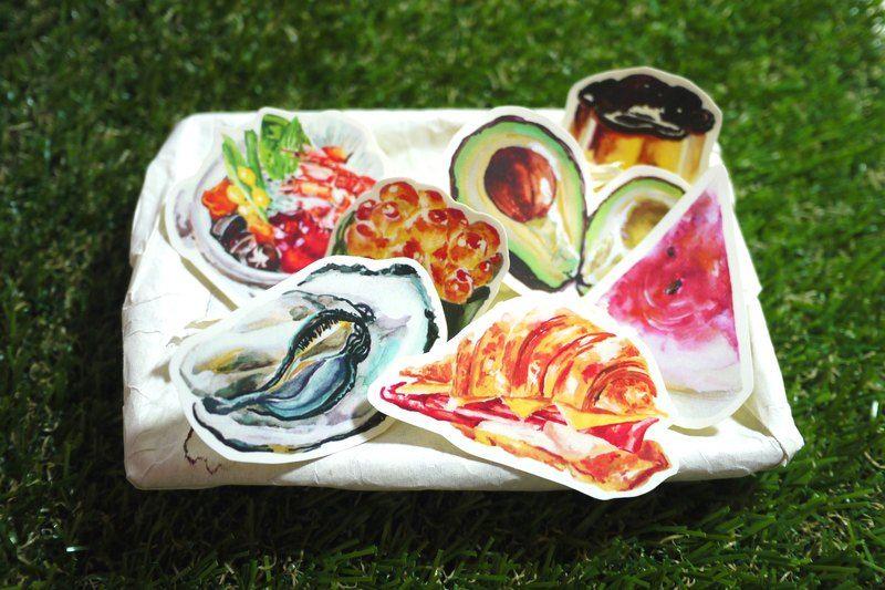 食物貼紙營養補充包8入 第三彈 - 設計師 冰菓室 - Pinkoi