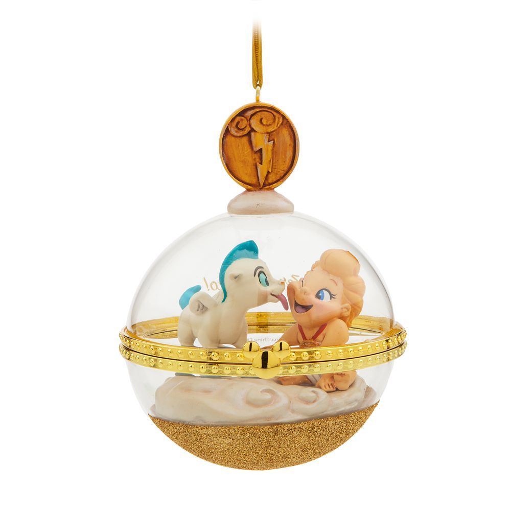 Disney 2019 Mary Poppins Glass Dome Legacy Sketchbook Christmas Ornament New