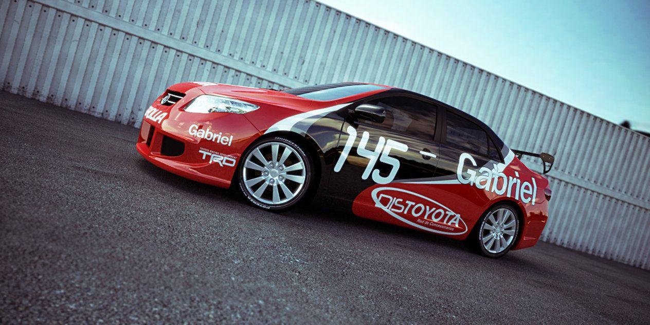 Toyota Corolla Tuning By Alejit0 On Deviantart Art Works 3d