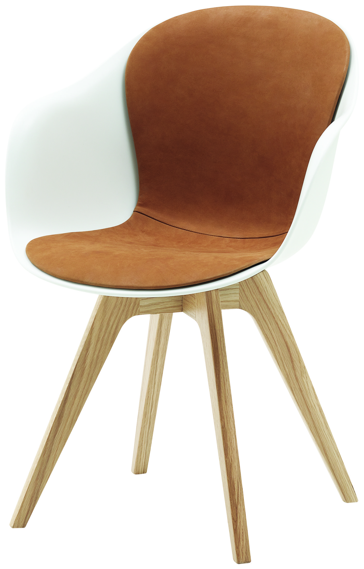 Adelaide Dining Chair With Tan Leather Insert On Seat Dining