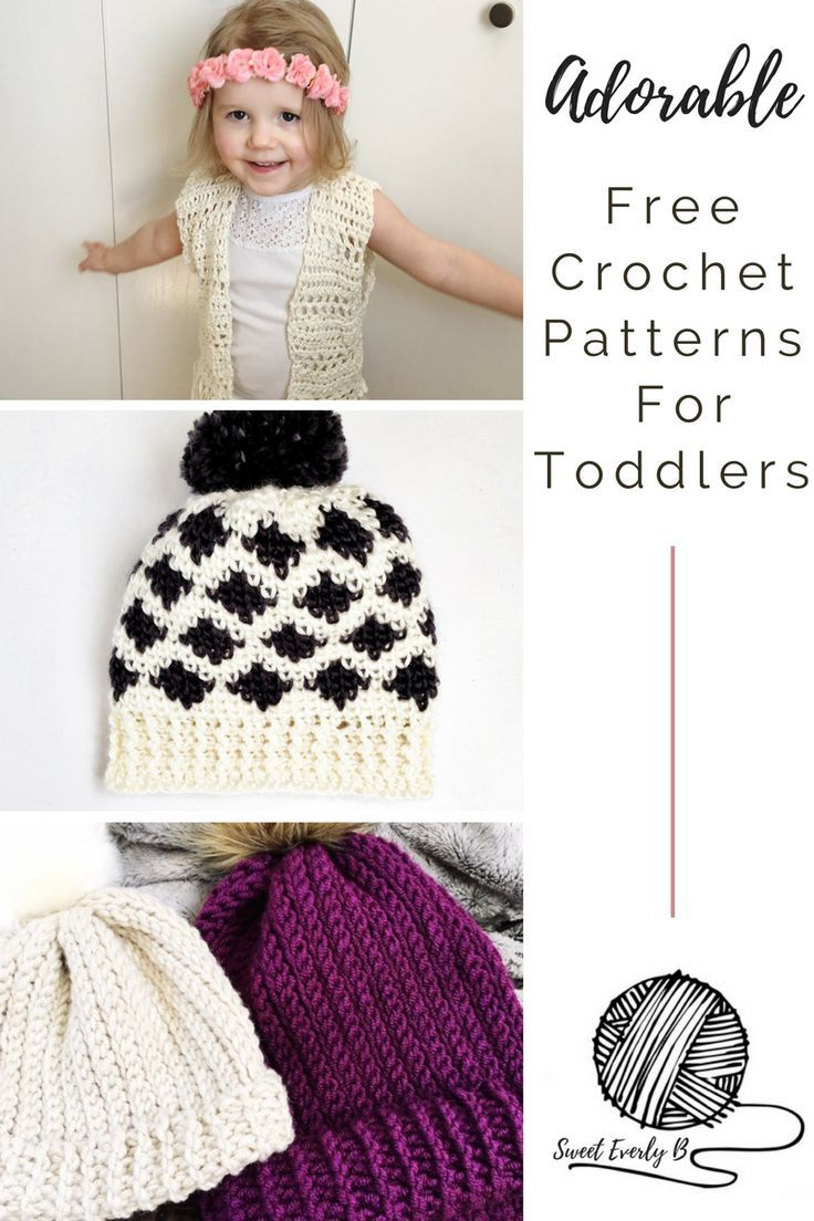 Adorable free crochet patterns for toddlers the best list yet ...