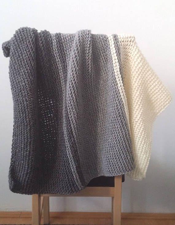 Knit Baby Blanket Patternbeginners Knitting Patern Gartner Stitch