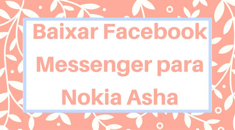 baixar facebook messenger