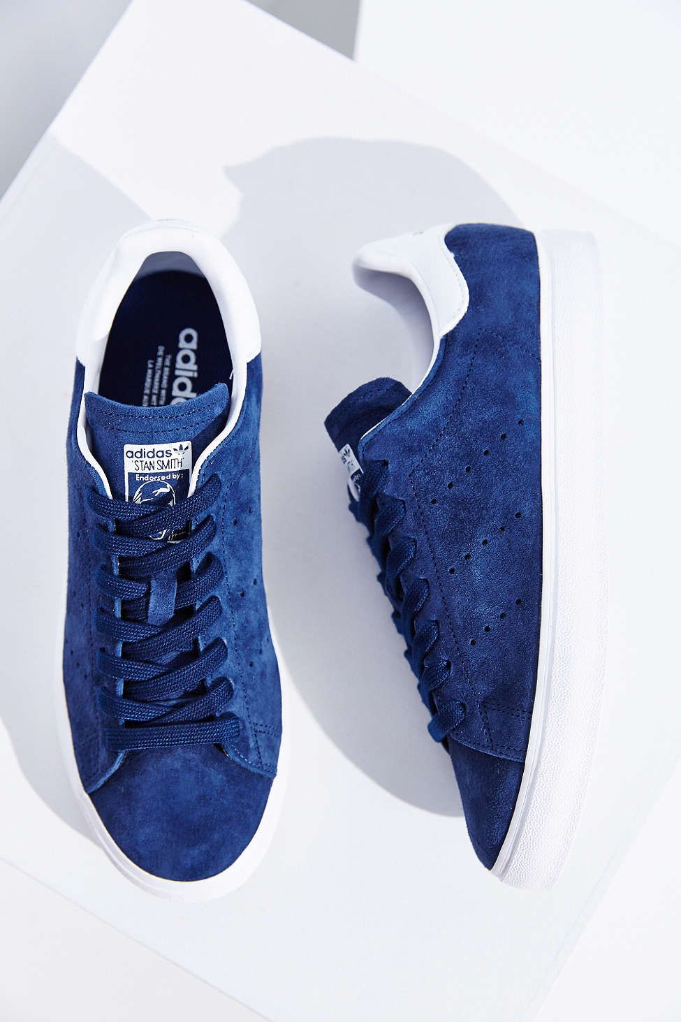uk availability e86bd 187ca love it in blue suede...adidas originals stan smith | Kicks ...