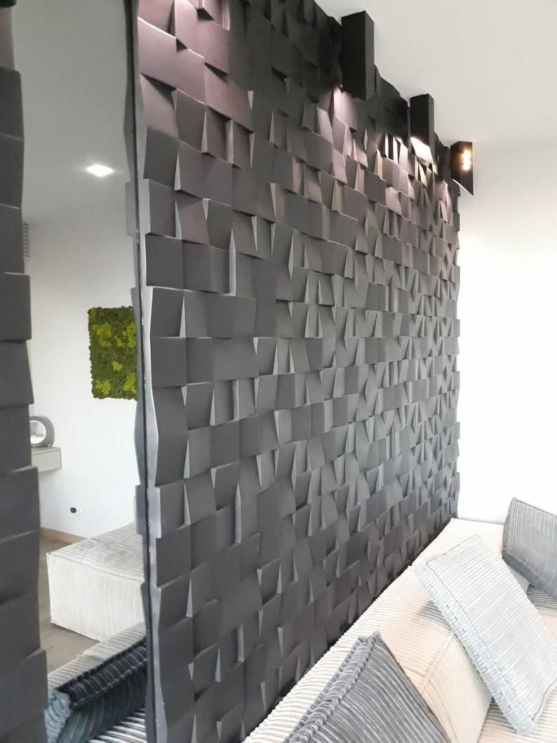 Plastic Mold 3d Wall Panels For Plaster Gypsum Or Concrete Form