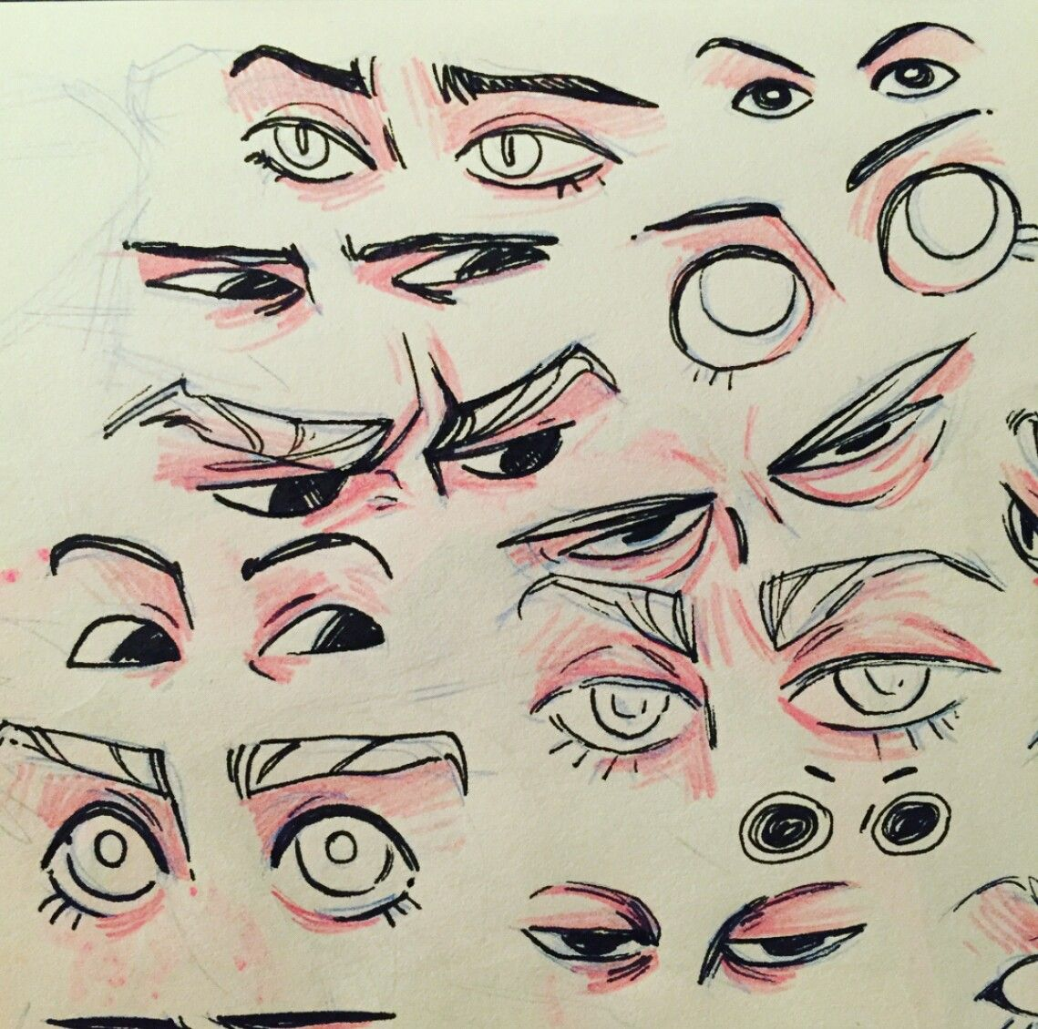 Eye Art Style Inspiration In 2020 Drawings Art Tutorials Art Sketches