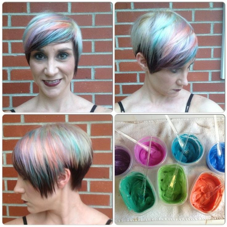 Custom Pravana Pastels Fabulous Hair Hair Pinterest Pravana