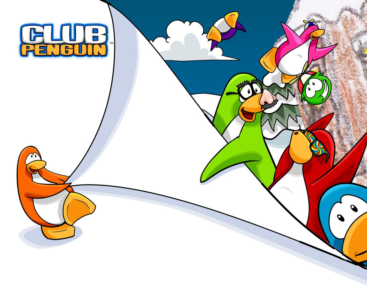 Club Penguin 101 Club Penguin Penguins Wallpaper Downloads