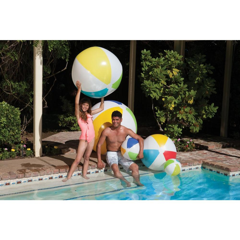 Poolmaster 60 Inch Play Swimming Pool And Beach Ball 81178 The Home Depot In 2021 Beach Ball Party Swimming Pool Play Ball