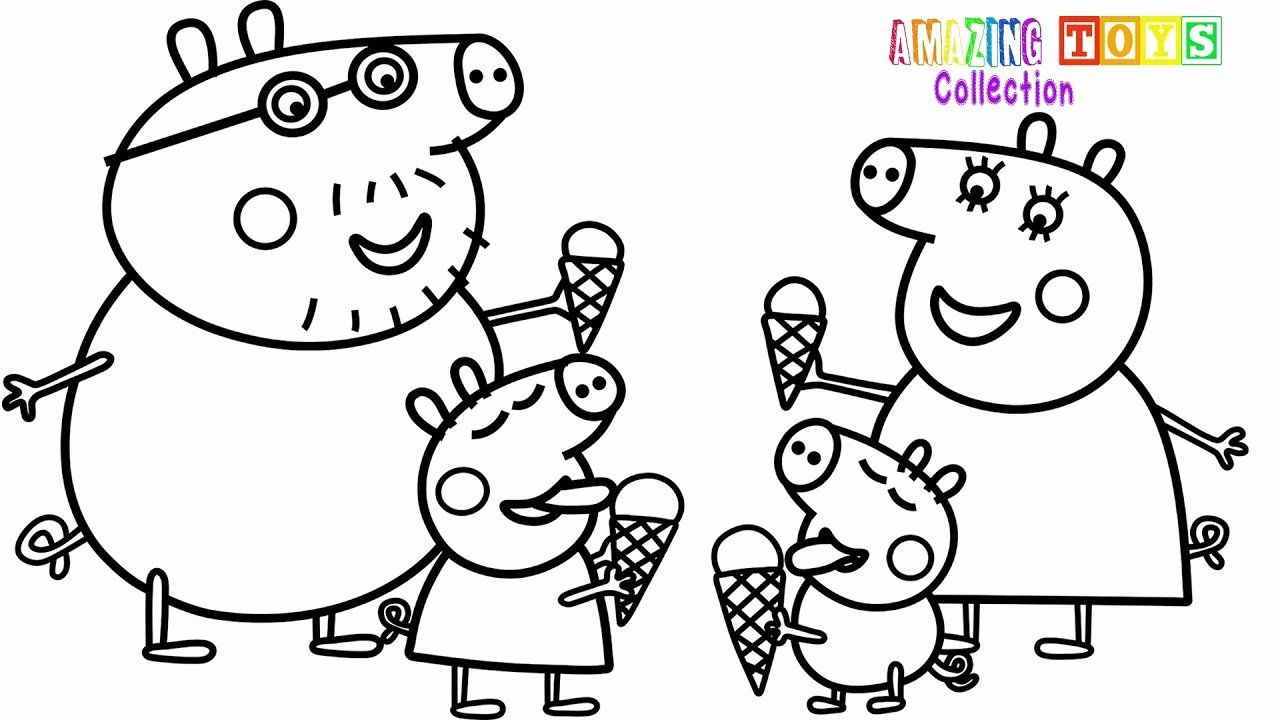 Peppa Pig Coloring Pages Printable Best Of Colouring Pages