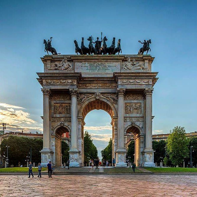 """Arch of peace""-MilanItaly http://ift.tt/1zTYO1U #photooftheday #big_shotz #special_shots #igglobalclub #ig_today #igpowerclub #ig_worldclub #wildernessculture #europeanvacation #OurPlanetDaily #igtravel #worldtravelbook #WorldTravelPics #natureaddict #doyoutravel #travelawesome #travelingram #italian_places #italy_vacations #ig_italy #ig_captures #epic_captures #allshots_ #awesome_shots #awesome_earthpix #earthfocus #WeLiveToExplore #fantastic_earth #awesomeearth #Main_Vision by…"