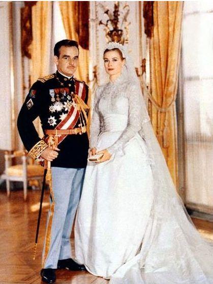 Grace Kelly -1956 -mariage avec le prince