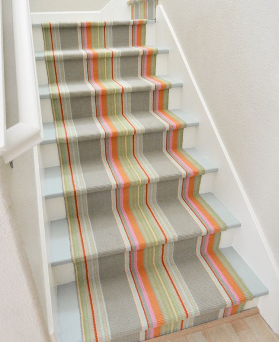 Painted Basement Stairs Ideas: Painting A Staircase - My Colortopia