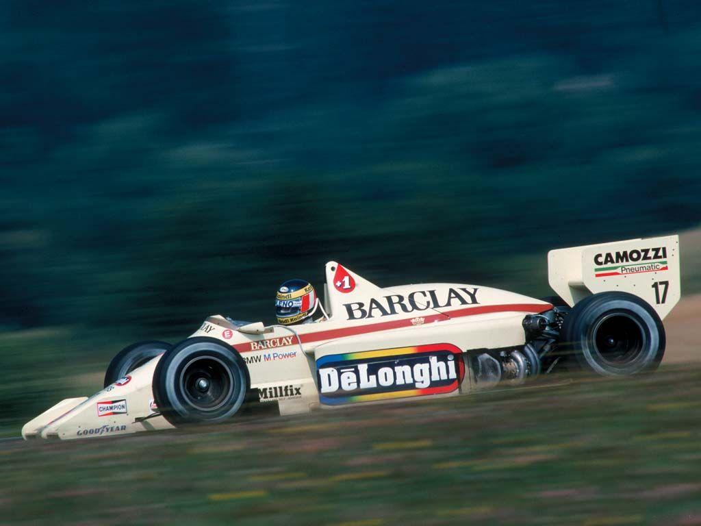 Risultati immagini per f1 1985 Barclay Arrows BMW A7