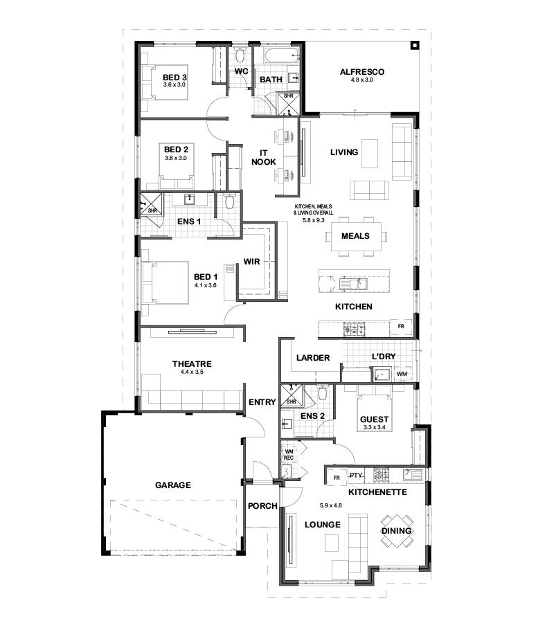 The Binary Dual Living House Design Perth Momu Wa House