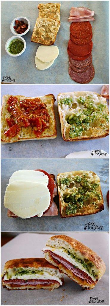 Toasted Italian Sandwich