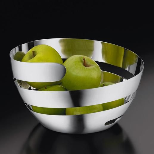 interesting ideas fruit bowl. Fruit Bowl  Peel Solid stainless steel lets your fruit breathe and keeps it fresh longer Pro Idee Concept Store new ideas from around the world Sleek bowl Design Pinterest Bowls Kitchens Kitchen