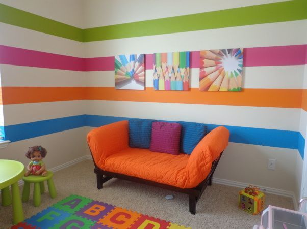 Unisex playroom ideas google search kiddos pinterest for Kids room painting ideas