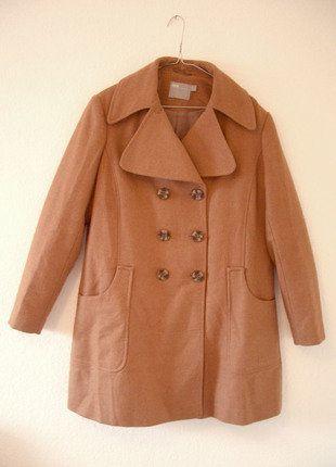 Kaufe meinen Artikel bei #Kleiderkreisel http://www.kleiderkreisel.de/damenmode/halblange-mantel/136839971-camelbrauner-caban-mantel-im-70er-jahre-stil