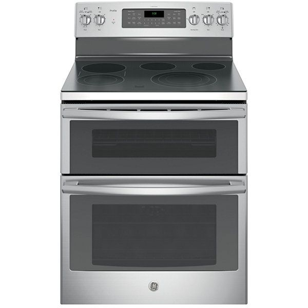 "GE Profile™ 30"" 6.6 Cu. Ft. Double Oven Electric Range"