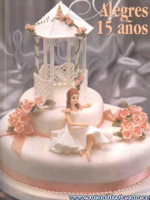 Nuevas tendencias en decoraci n de tortas tortas de 15 - Decoracion de tortas ...