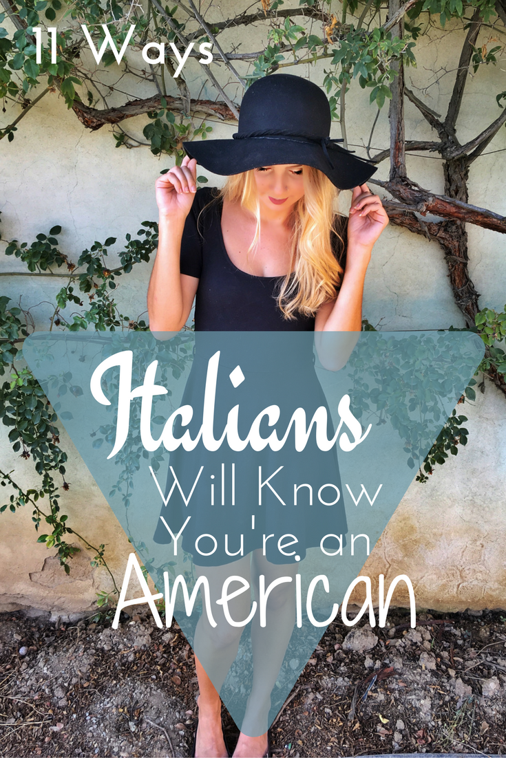 Photo of How Italians Will Know You're an American Culture shock in Italy | Blending in…