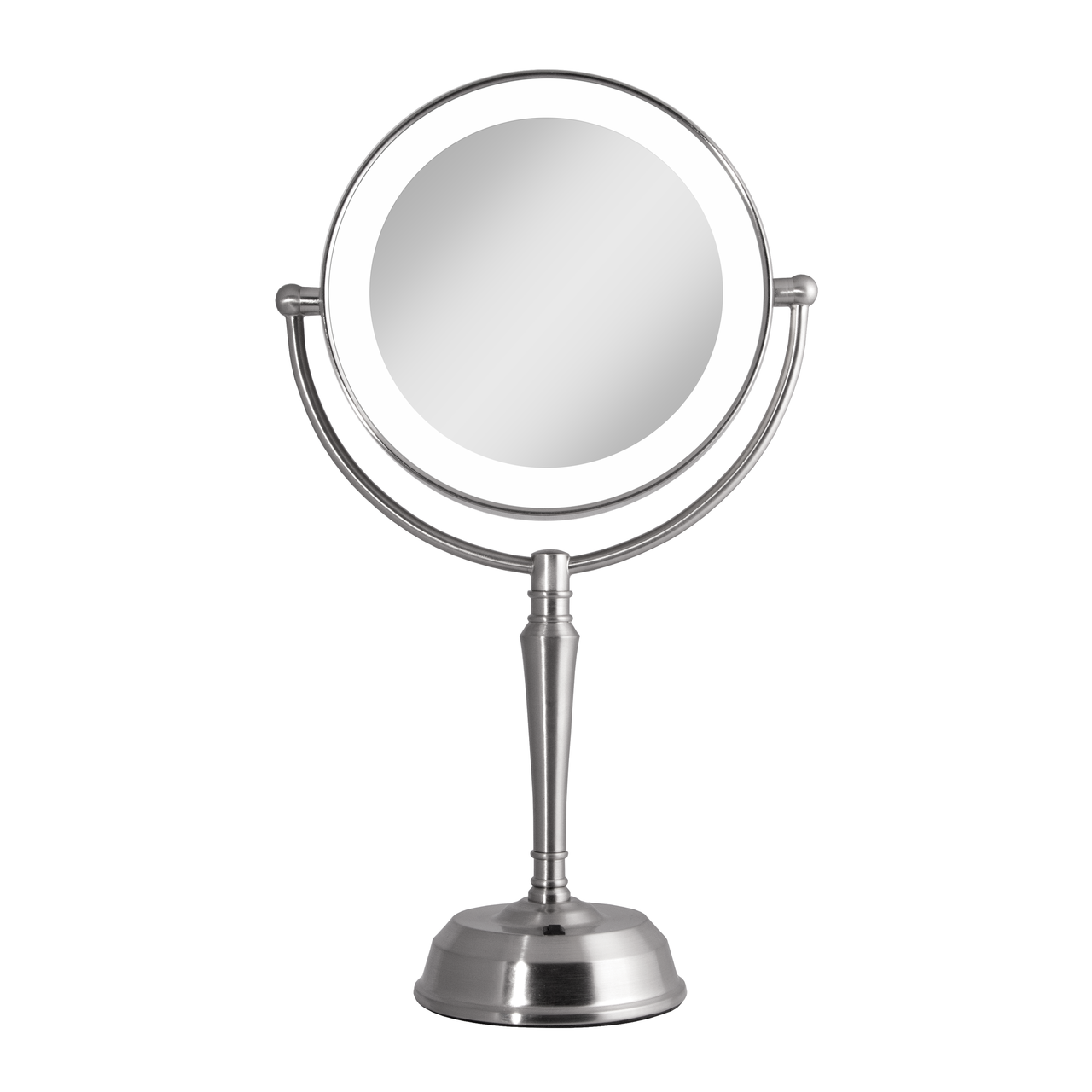 LED Lighted Vanity Mirror with Rechargeable Battery & USB