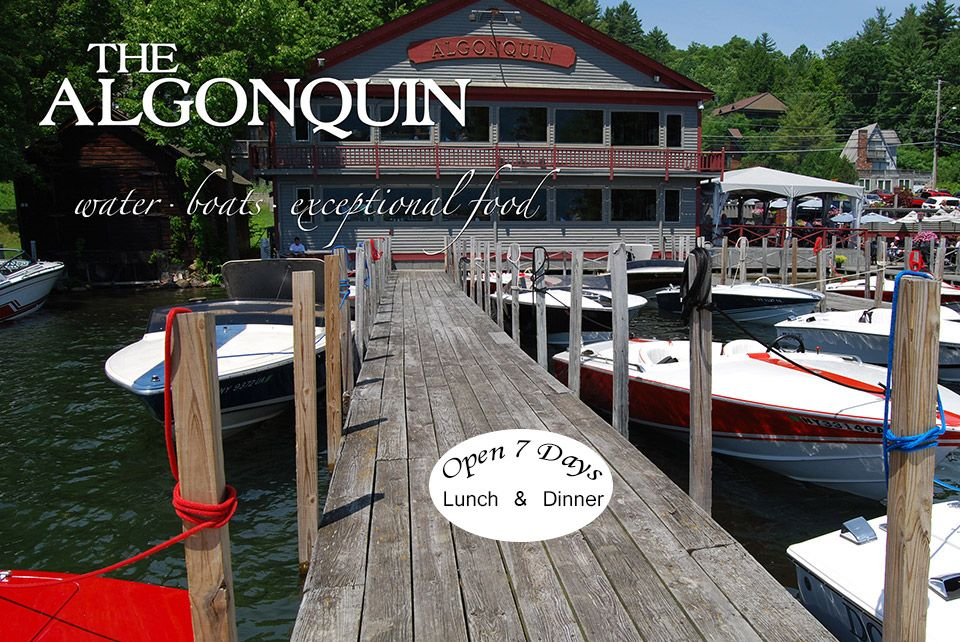 The Algonquin Restaurant on Lake Goerge in Bolton
