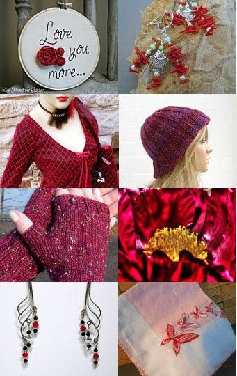 red by Kristina Beganovic on Etsy--Pinned with TreasuryPin.com