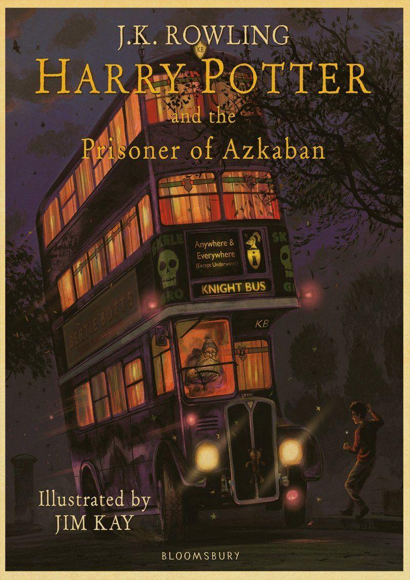 Vintage Poster Harry Potter Hogwarts Express Diagon Alley