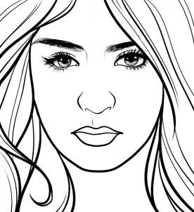 The Vampire Diaries Coloring Sheets Draw Elena Gilbert The