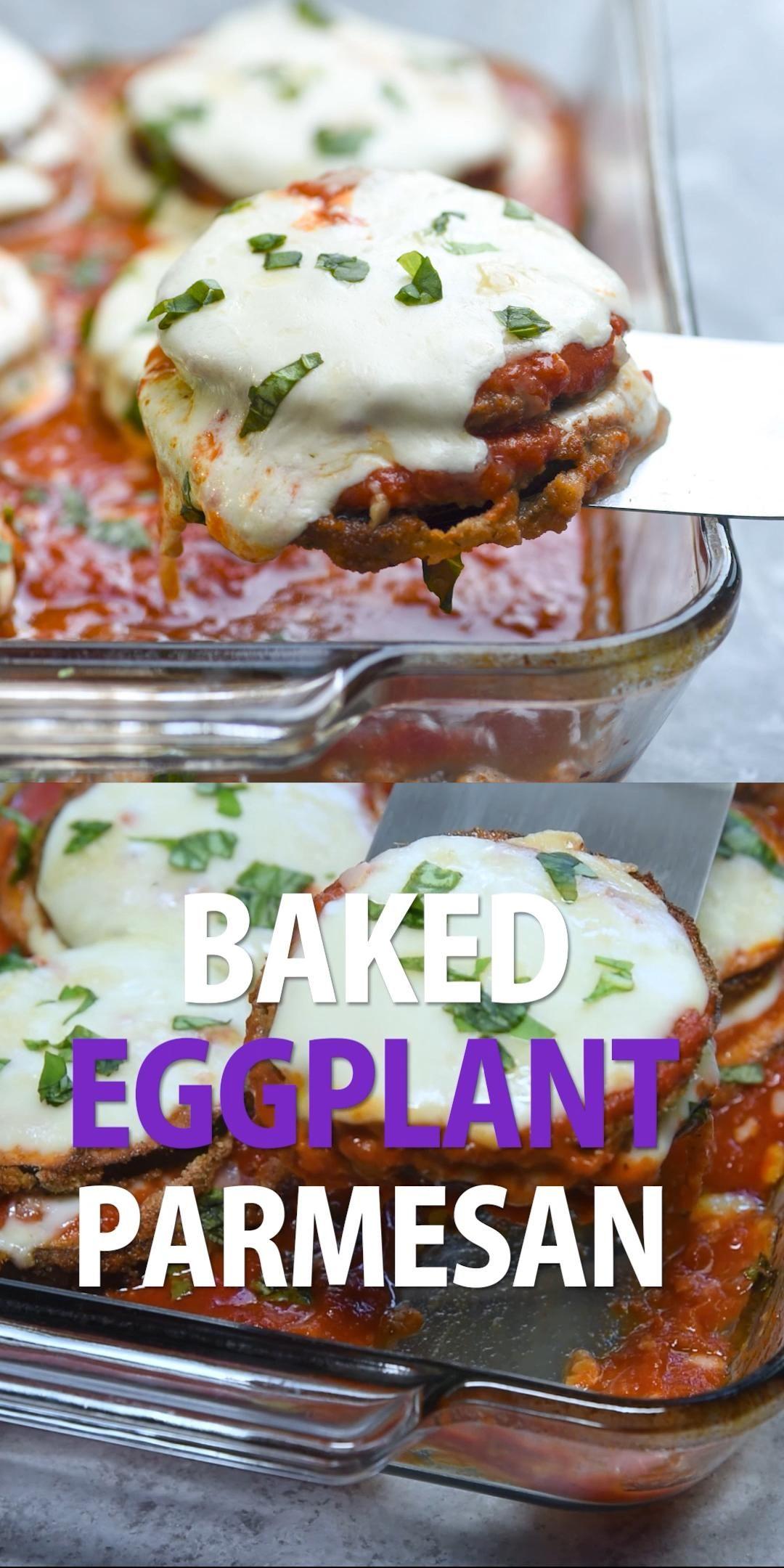 Photo of Baked Eggplant Parmesan   Valerie's Kitchen