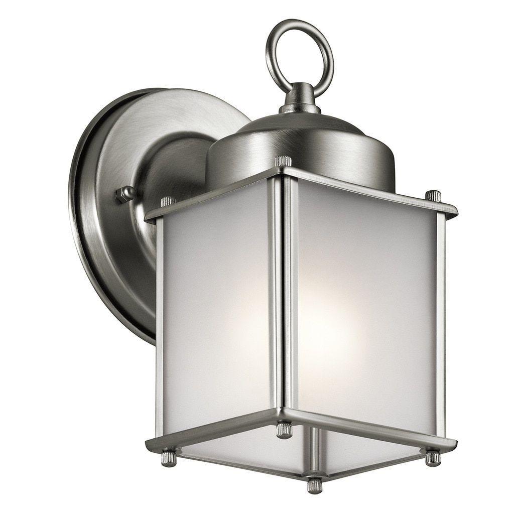 Kichler lighting traditional light stainless steel silver