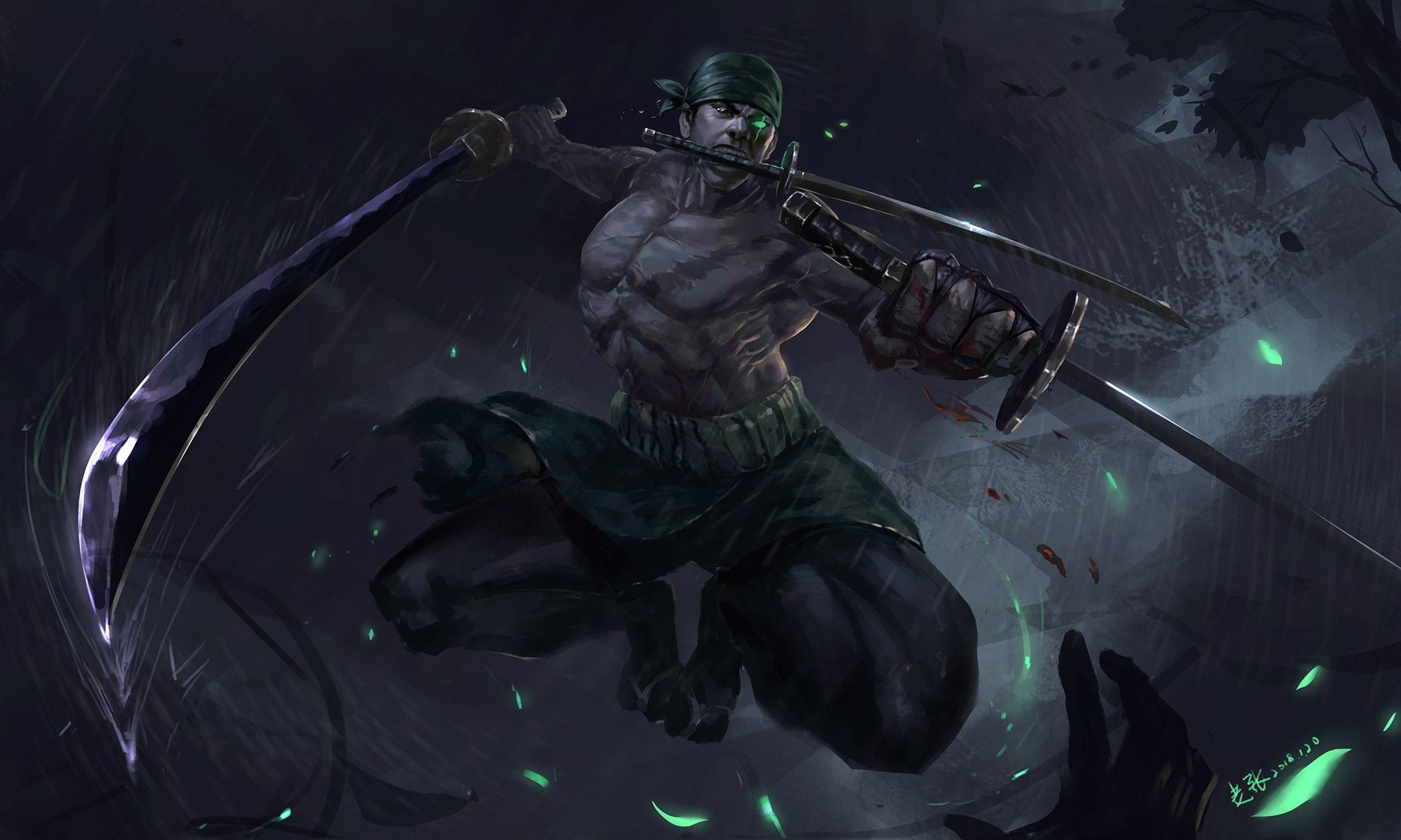 Artstation Roronoa Zoro Old Zhang Roronoa Zoro Anime Wallpaper One Piece Images