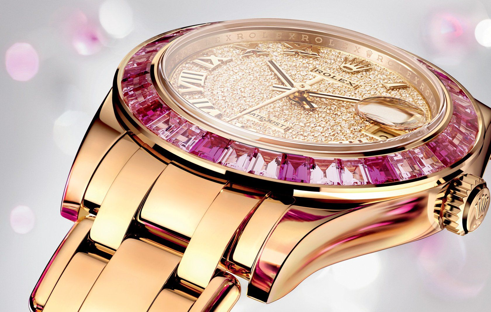 Le Pearly Jazz... My New Rolex Datejust Pearlmaster 34 Watch: Baselworld 2014